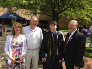 Cody Graduating Pre-Med today - We are SO PROUD!!!