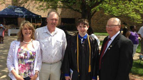 Our son Cody Graduated Pre-Med summa cum laude!!!