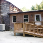 Whispering Pines Log Cabin Rental