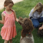 Grand-daughters & Puppies